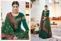 Designer Traditional Heavy Sartin Tafeta Silk Gown