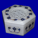 Marble Inlay Jewellery Box