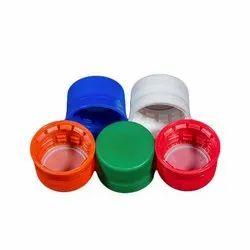 Blue PET Plastic Caps, for Juice, Size: 28mm, 26mm