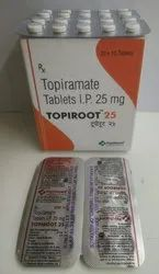 Topiramate 25mg tabs  (TOPIROOT 25)
