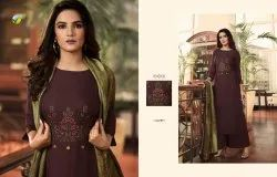 Vinay Fashion Llp Rayon Fabric Designer Long Kurti