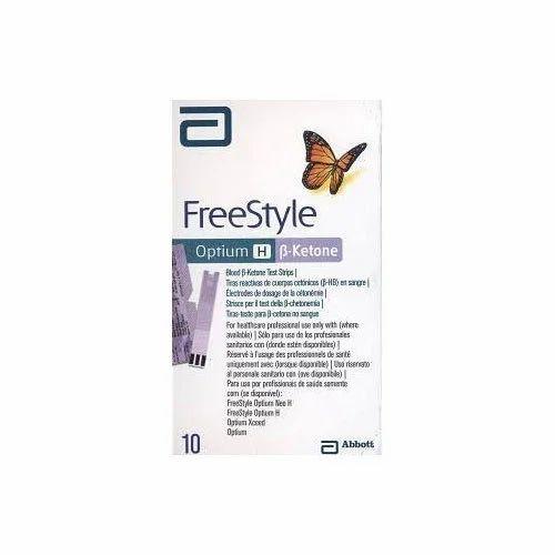 Freestyle Optium Ketone 10 Strips