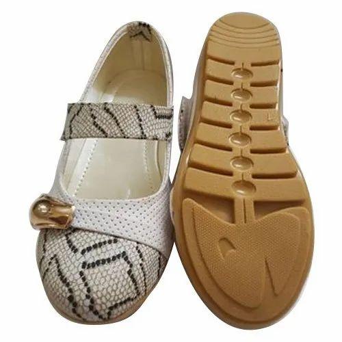 White Open Sandal Girls Flat Sandals