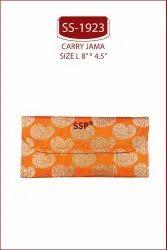 Rectangular Card board Brocade Shagun Envelopes