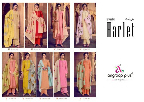 1b1597ce5d Angroop Plus Harlet Cotton Salwar Suits at Rs 679 /pack | Cotton ...