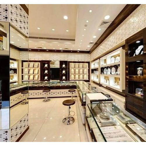 Jewellery Showroom Interior Designing Client Side Id