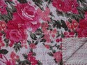 Floral Printed Kantha Quilt