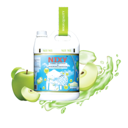 Strong Fabric Softener and Fragrance Booster 5 Liter Green Apple - Refill