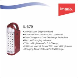 Rechargeable LED Lantern (IL 679)