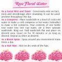 B-Urbon Rose Floral Water