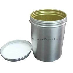 Silver Color 100 Ml Pharmaceutical Aluminum Container