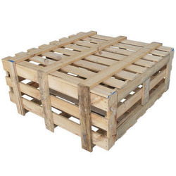 Rectangular Wooden Storage Crates