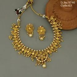 Antique Traditional Designer Necklace Set