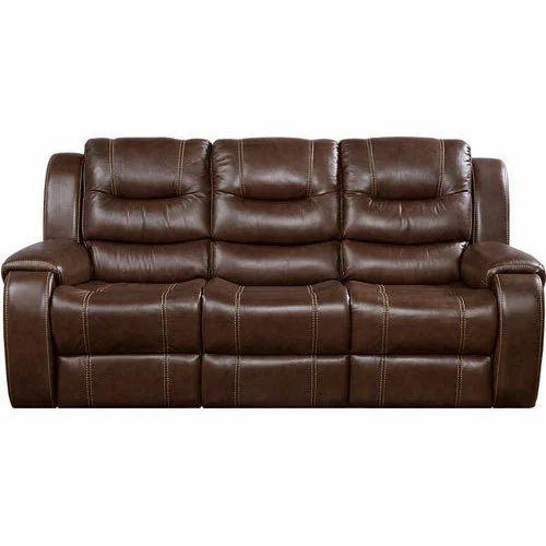 3 Seater Leather Sofa Set