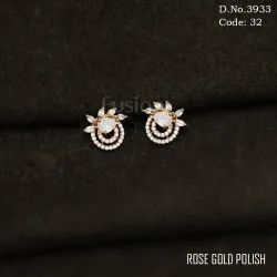 American Diamond CZ Earrings