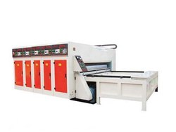 KARUNYA Corrugated Paper and Cardboard Flexo Printer Rotary Slotter