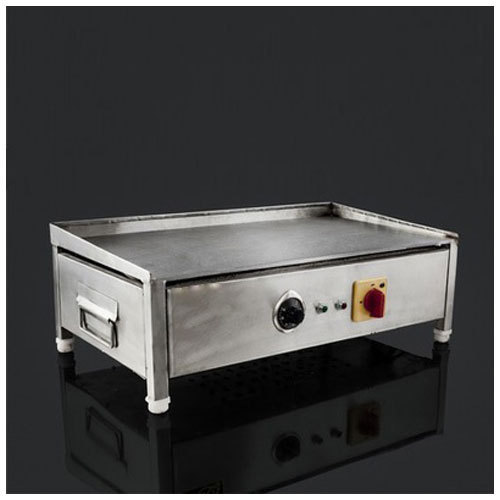 Genial Rectangle Electric Hot Plate, Size: 25 X 25 X 7.5 Cm