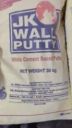 White J.K. Wall Putty for Construction, Packaging Type: Bags