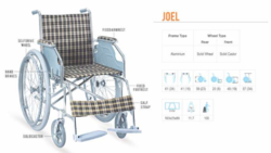 Joel Basic Aluminum Wheelchair
