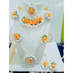 Haldi Fancy Flower Jewellery
