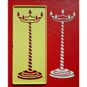 Candle Rangoli Design