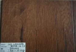 Leo Laminate Floor - EIR 90778-14 Brownie