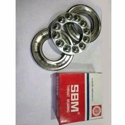 SBM Silver Thrust Bearings, Packaging Type: Box