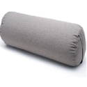 White Cotton Eco Friendly Yoga Bolster