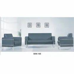 3 Seater Leatherette Sofa Set