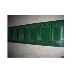 PVC Green Both Side Sidewall Cleated Conveyor Belt