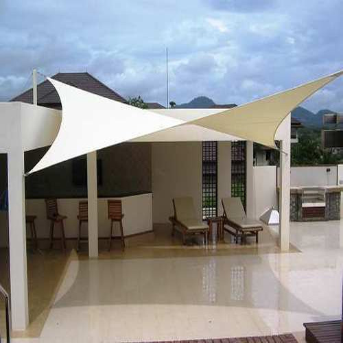 Steel Canopy Tensile Structure & Steel Canopy Tensile Structure Rs 200 /square feet Shyam ...