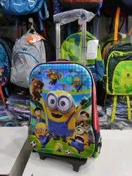 School Bag With Trolley