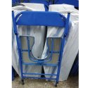 Blue Commode Chair