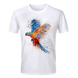 Male To Choice 3D Effect Ladies T Shirt, Age Group: Mens