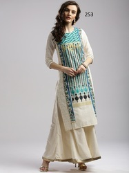 Fancy Long Printed Kurti