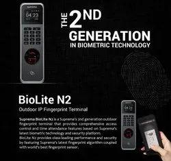 BioLite N2 Outdoor IP Fingerprint Access Control Systems