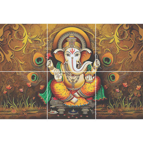 Ganesha 3d Wall Tile Size 30x30 Cm Rs 750 Square Feet