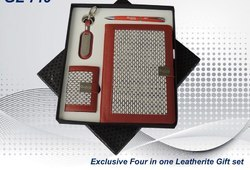 Four in One Leather Gift Set