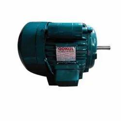 Gokul 1 HP Single Phase Motor, Voltage: 230, 1440