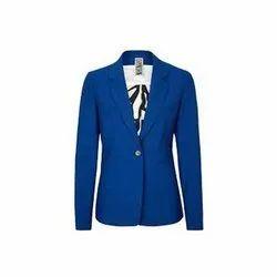Plain Polyester Mens Fancy Full Sleeves Blazer, Size: M-XXL