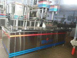 Shreeji Projects Automatic Liquid Filling and Packaging Machine
