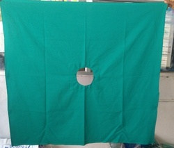 Hospital Surgical Hole Towels (40x56) Inches