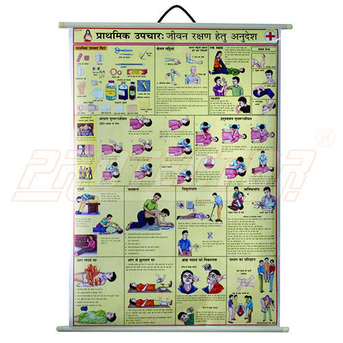 Safety Chart For First Aid Essentials Hindi