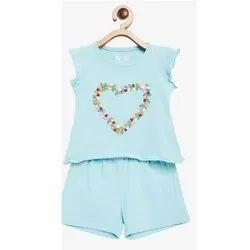 Cotton Round Kids Summer Dress