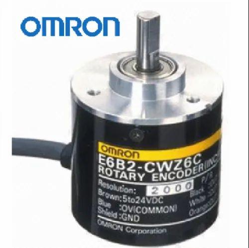 New 1pc OMRON 500P Incremental Rotary Encoder 500p//r 12~24V DC E6B2-CWZ5B PNP