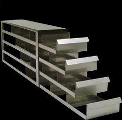 Stainless Steel Laboratory Freezer Rack