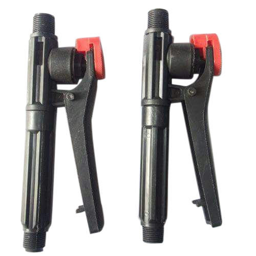 Black and Red Plastic Trigger Gun Sprayer Handle