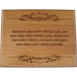 Customized Wooden Plaques