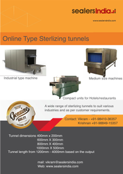 UV Sterlization Tunnel for Food Application and Packaged Food
