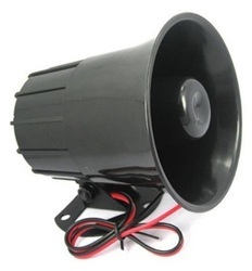 Bright Dc 12v Mini Wired Siren Horn Security Anti-theft Alarm Horn 120db Loudly Siren For Wireless Home Alarm Security System We Have Won Praise From Customers Alarm Siren